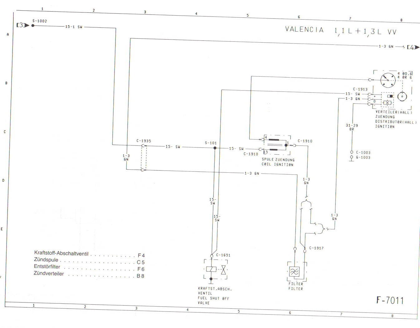 Ziemlich 1999 Ford Escort Schaltplan Ideen - Der Schaltplan - greigo.com